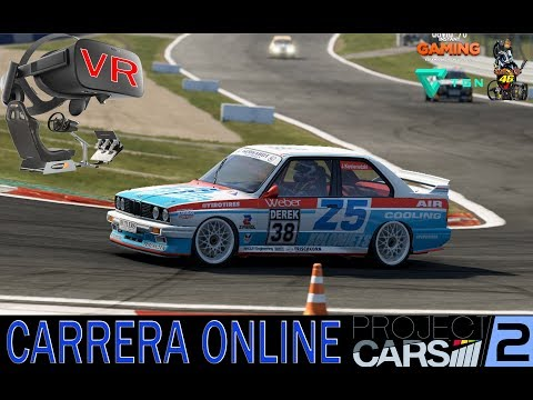PROJECT CARS 2 - VR  - ONLINE - OCULUS RIFT - HD GAMPLAY