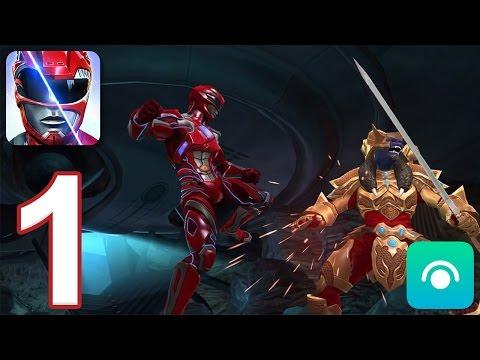 Power Rangers: Legacy Wars - Gameplay Walkthrough Part 1 - League 1 (iOS, Android)