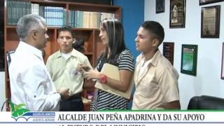 Alcalde Juan Peña apoya la juventud del municipio Alberto Adriani