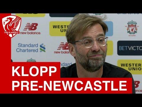 Jurgen Klopp Pre-Match Press Conference   Liverpool vs. Newcastle