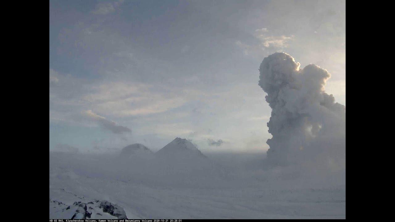 Entra en erupción el volcán Bezymianny en el Lejano Oriente de Rusia -  Alerta Geo