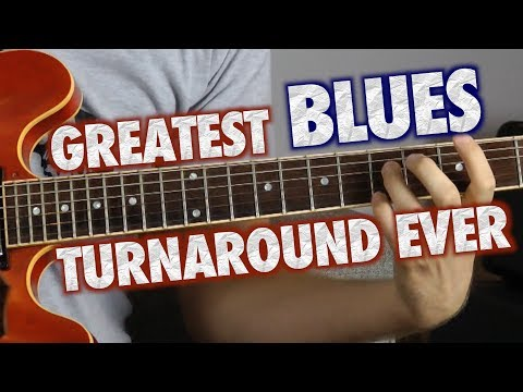 How to Play the Greatest Blues Turnaround EVER!