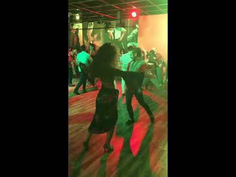 Lynn Moussalli & David Habib Salsa Social - Afro Latin Halloween Party