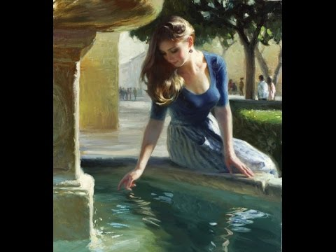 Vladimir Volegov paintings ✽  Francis Goya / If You Go Away (Romantic music)