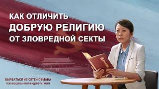 Почему коммунистическая партия Китая преследует Церковь Всемогущего Бога (Видеоклип 6/7)