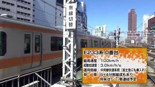Repeat youtube video E233系全集【E233系10周年記念・60p】