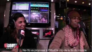 Ne-Yo va proposer à Pitbull le clip de la fin du monde  - C