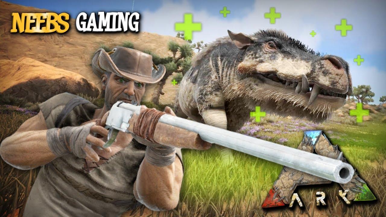 Ark: Survival Evolved - The Healing Hog!!!