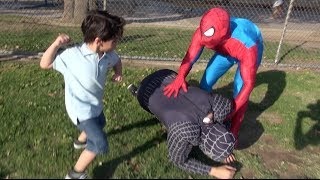 SPIDERMAN IN REAL LIFE PRANK!