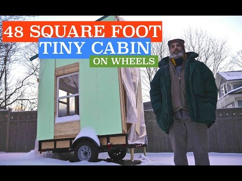 Future 48 square foot Airbnb Tiny Cabin/House On Wheels Rental....