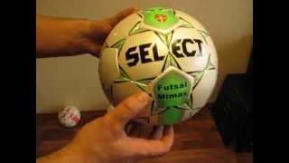 Мяч футзальный Select Mimas Futsal(, 2012-10-15T19:53:04.000Z)