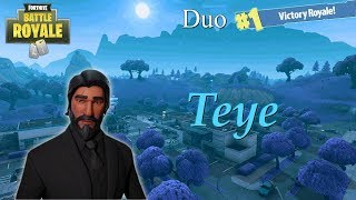 First Game With John Wick! (Tier 100 Skin) - Fortnite Battle Royale - Teye