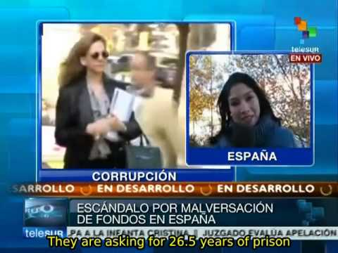 Spanish tax fraud and embezzlement scandal reaches the royal family
