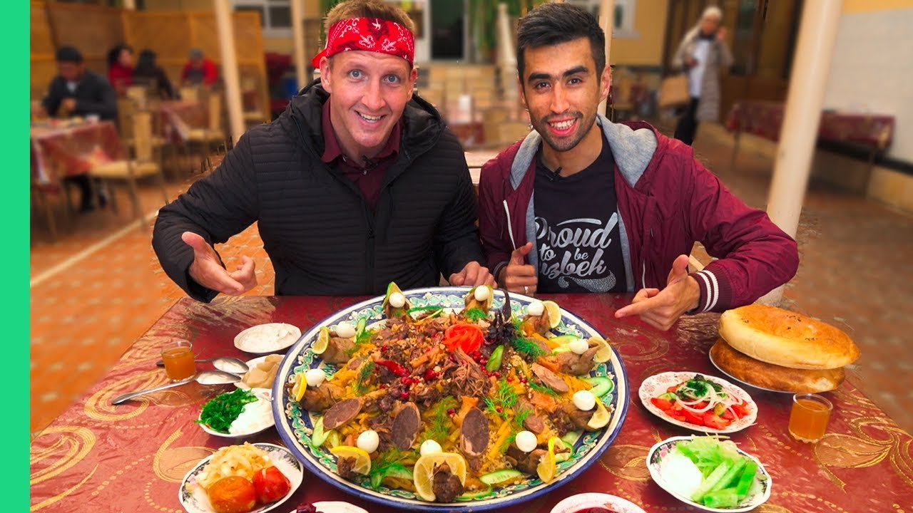 Heart Attack on a Plate! Next Level Street Food in Samarkand, Uzbekistan!