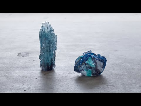 Architectural Glass Fantasies by Stine Bidstrup | The Mindcraft Project | Dezeen