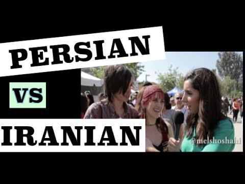 Persian Vs Iranian