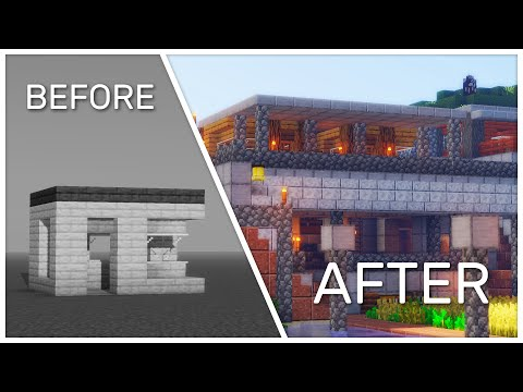 How To Expand Your Minecraft Starter House!