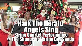 Hark The Herald Angels Sing @ The Shoppe at Marina Bay Sands