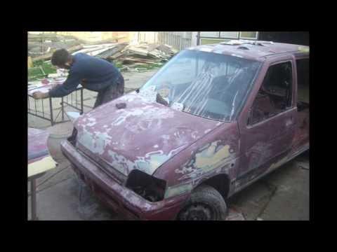 Resturacija Daewoo Tico