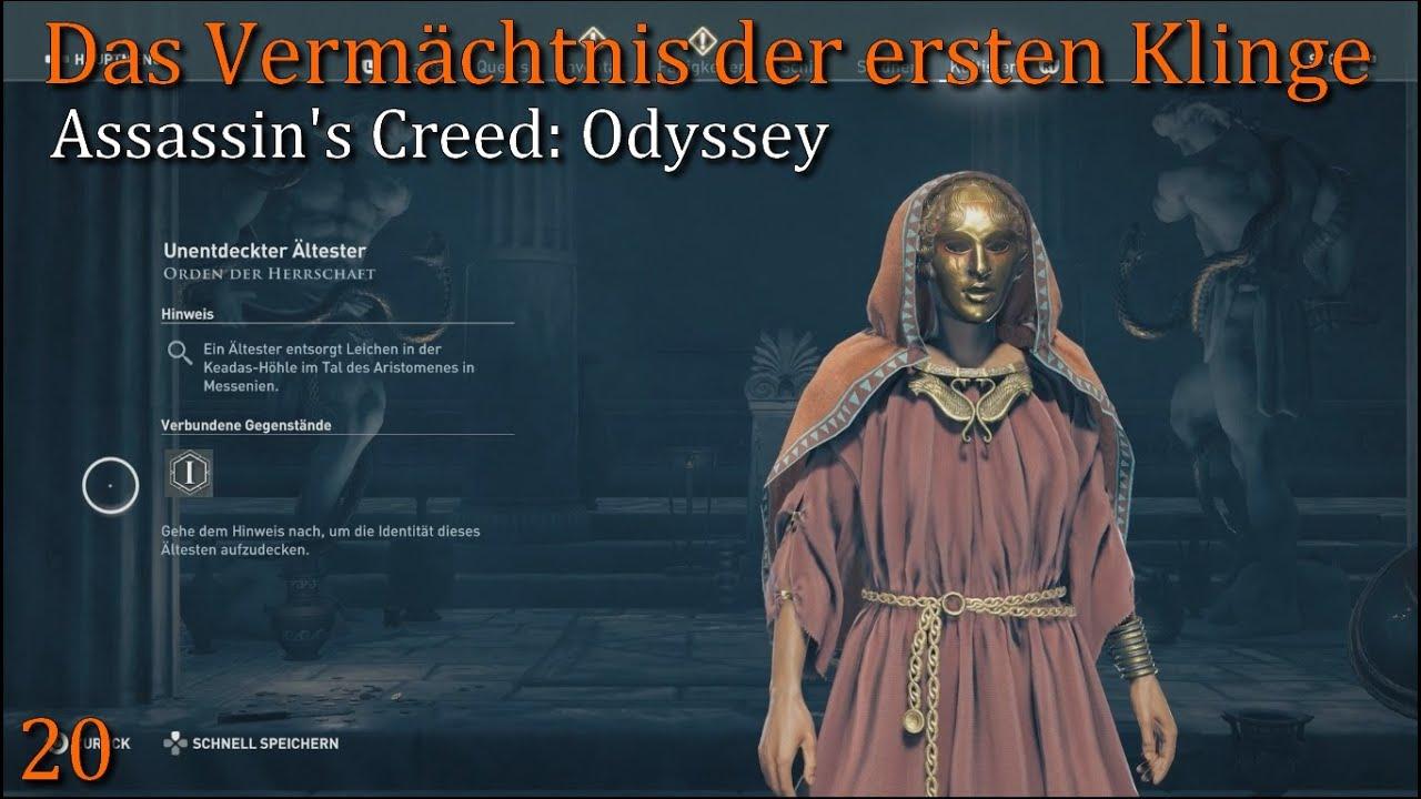 ac odyssey orden der ältesten