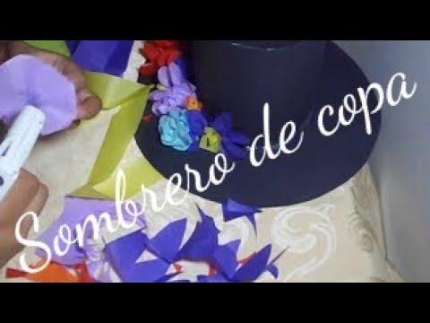 Sombrero De Copa Para Disfraz De Catrinadia De Muertoshalloween