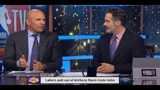GameTime - Lakers pull out of Anthony Davis trade talks after 'outrageous' counter off from Pelicans