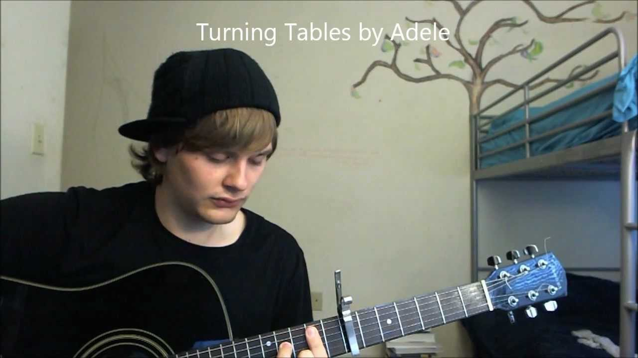 Adele Turning Tables Live Acoustic Cover With Lyrics And Chords