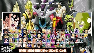Dragon Ball Z Raging Blast 2 MUGEN by AlexSilva #Mugen #AndroidMugen