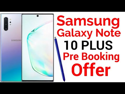 SAMSUNG GALAXY NOTE 10 PLUS || SAMSUNG GALAXY NOTE 10 PLUS PRE BOOKING