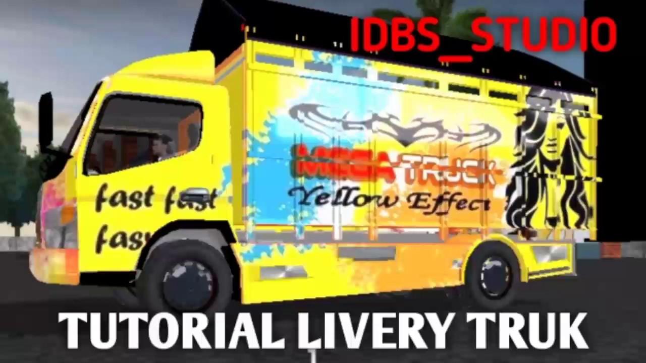 Tutorial Livery Truk Oleng Idbs Studio Keren Banget Hasilnya Youtube