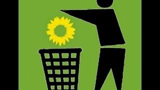 Grünfaschisten pissen auf Deutschland - Wer wählt die überhaupt?