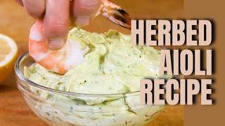 Andrew Zimmern Cooks: Herbed Aioli