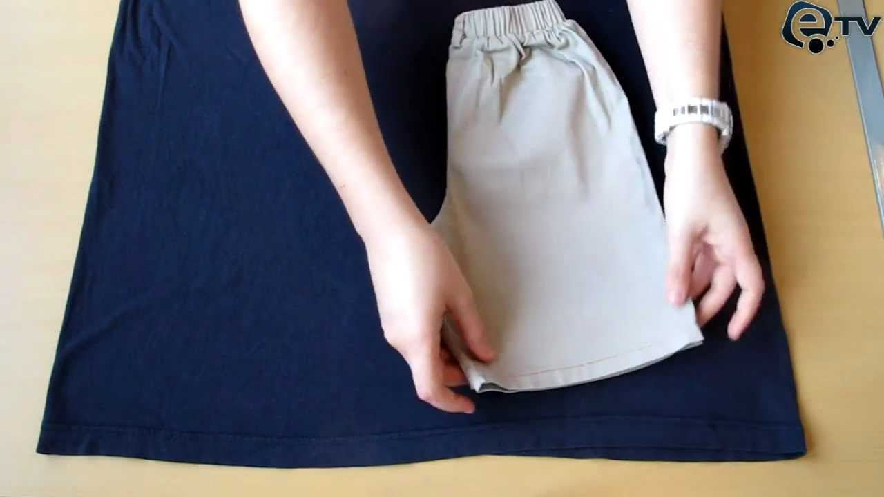 Kako napraviti dječje hlače od majice? - YouTube