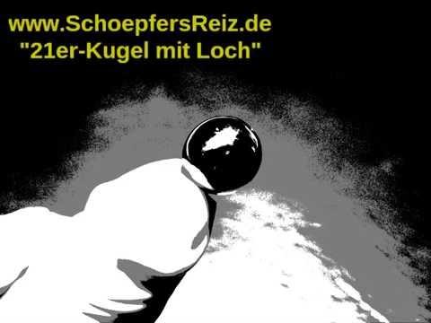 SchoepfersReiz.de - 21er-Kugel mit Loch - Urethral Sounding - Harnröhrenimplantat