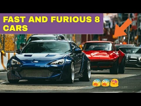 Fast And Furious 8 All Cars Youtube