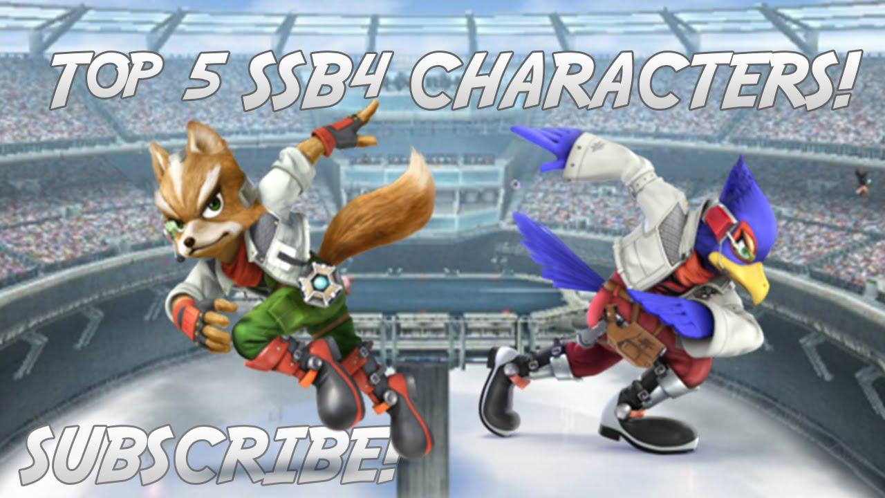 Ssb4 Characters