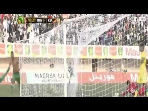 Mauritanie Vs Afrique Du Sud 3 - 1 CAN2017