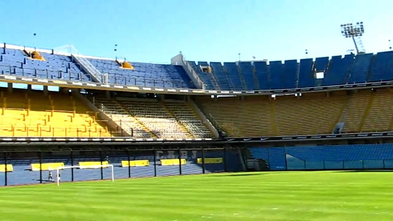 Boca juniors estadio la bombonera hd youtube for Puerta 2 cancha de boca
