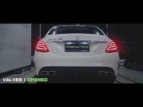 Mercedes-Benz W205 C63 AMG w/ Armytrix Exhaust In HangZhou