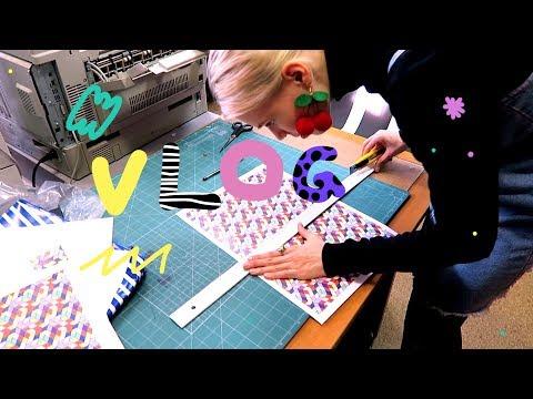 неделя студента-дизайнера (Vlog. 6)