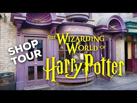 HARRY POTTER SHOP TOUR: Madam Malkin's Robes | WIZARDING WORLD UNIVERSAL ORLANDO
