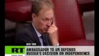 Russia: UN hypocritical over Abkhazia and South Ossetia independence.