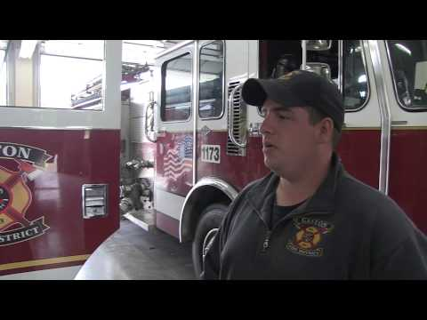 Randy Hoodenpyl Gives Us A Tour Of The Gaston Volunteer Fire Department