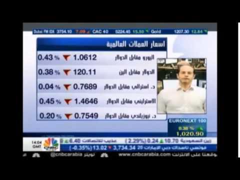 أشرف العايدي في سي أن بي سي العربية - Chart