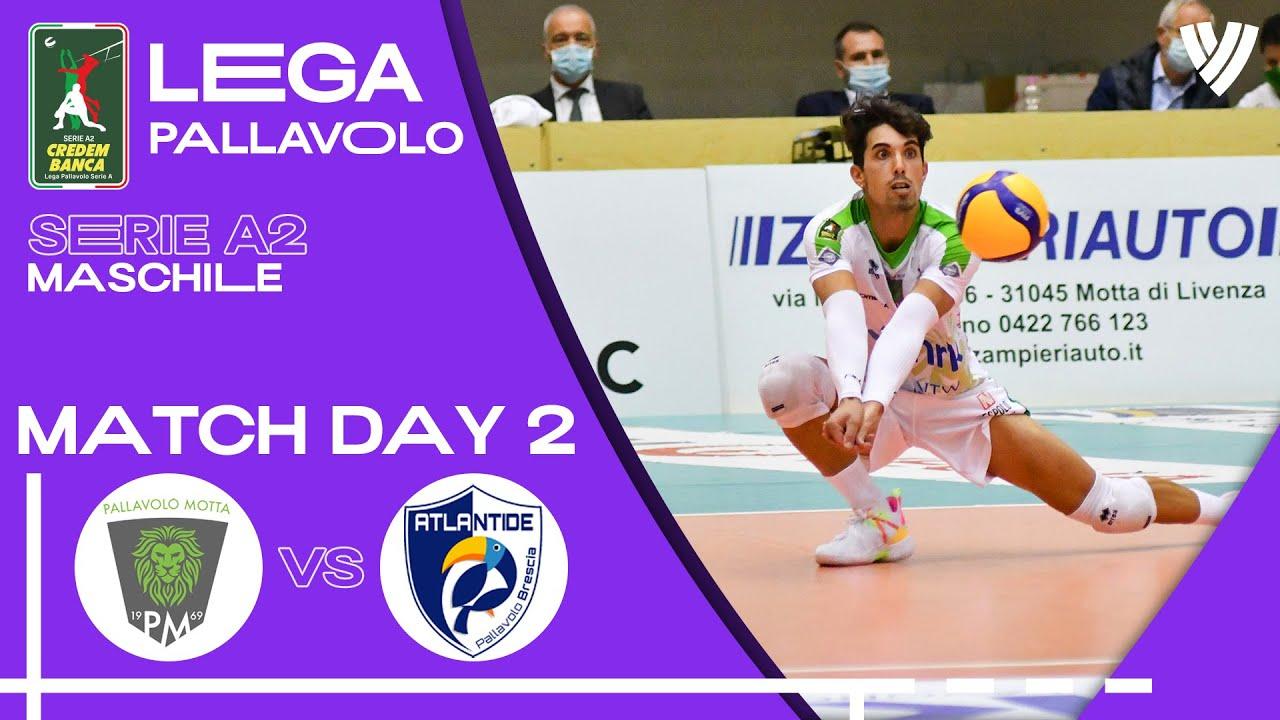 Motta di Livenza vs. Brescia - Full Match | Men's Serie A2 | 2021