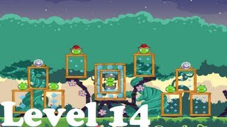 Angry Birds Friends - Pig Tales - Level 14 / 3 stars