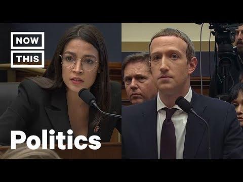 Alexandria Ocasio-Cortez Calls BS on Mark Zuckerberg and Facebook | NowThis