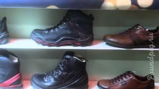 видео Мужская зимняя обувь Ecco