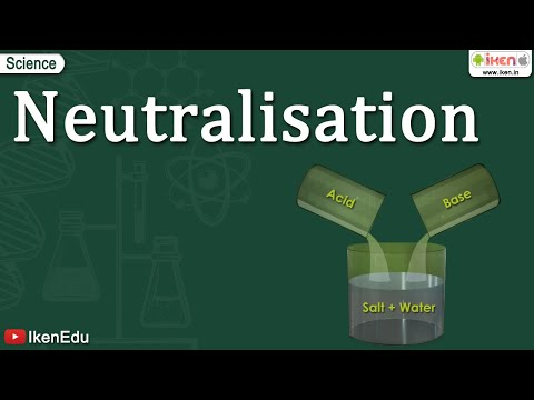 Neutralization Reaction Of Acids And Bases Iken Edu