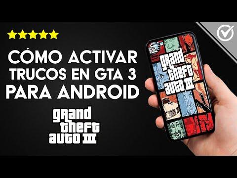Cómo Poner o usar Trucos en GTA 3 en Android sin Tener el Teclado en la Pantalla